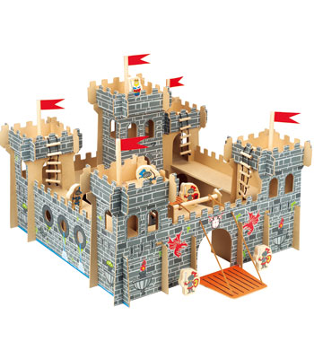 Buzzing Brains Wooden Castle