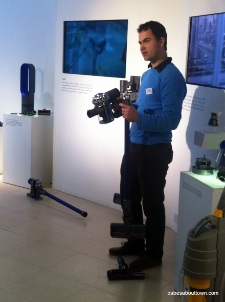 Dyson DC59 at blogger event