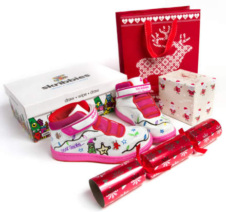 #Win Skribbies Kids Customisable Footwear! (12 Days of Xmas 2013)