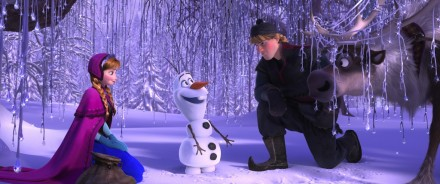 FROZEN Ana Olaf Kristoff and Sven