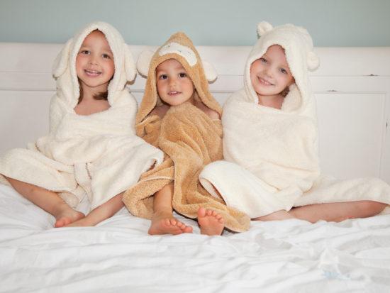 Cuddledry dress-up towels
