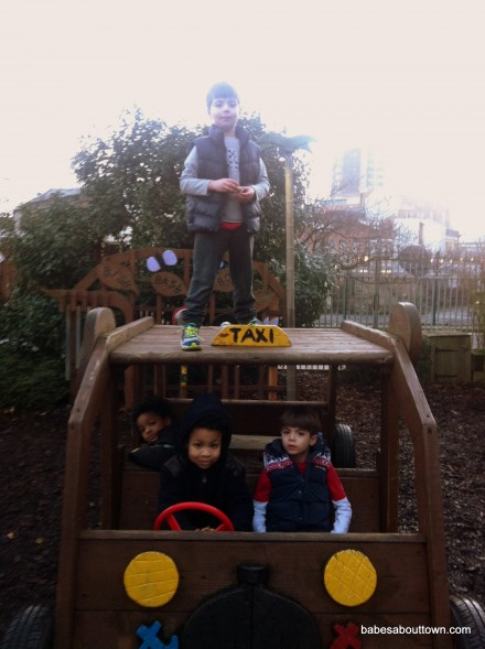 Discover Children's Story Centre playground