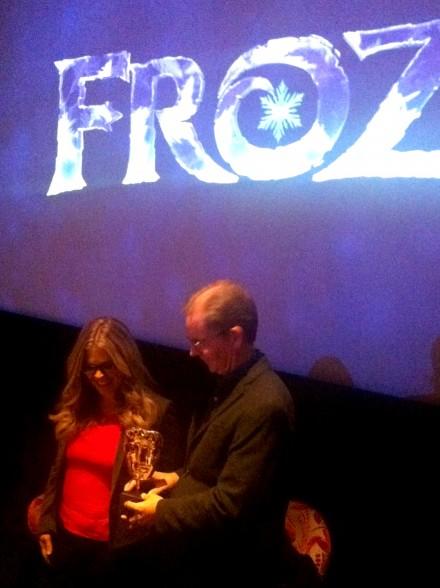 Frozen directors Jennifer Lee and Chris Buck