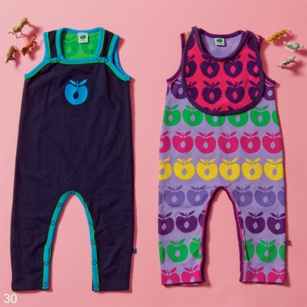 Smafolk apple romper