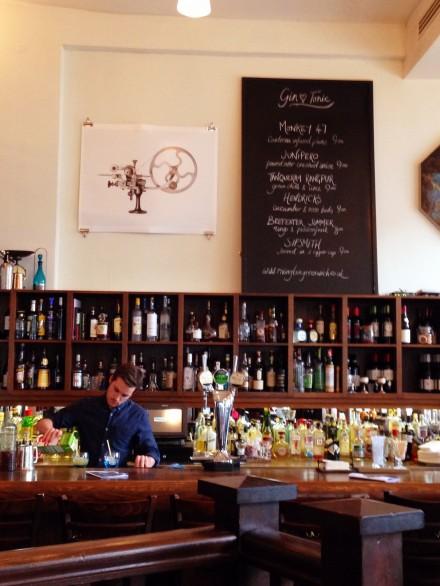Rivington Grill Greenwich bar