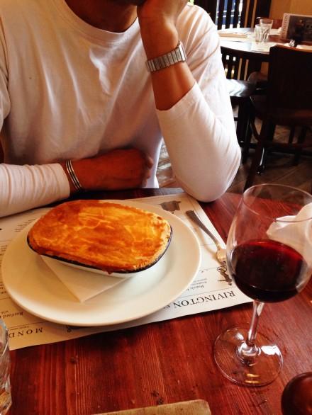 Rivington Grill Greenwich chicken pie