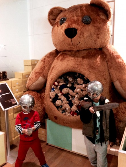 Vikings exhibition shop