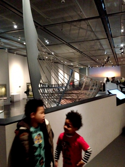 Vikings exhibition warship