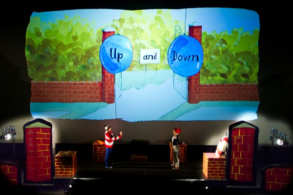Up and Down Ga Ga Theatre Company cinema projections