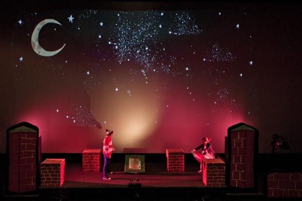 Up and Down Ga Ga Theatre Company starry night