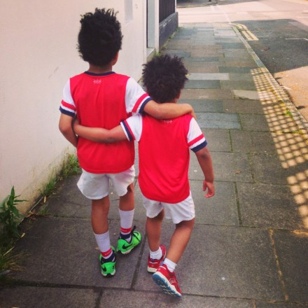 Arsenal FA Cup boys ready
