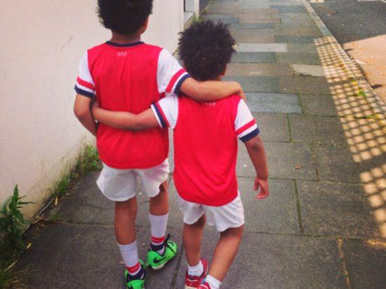 Arsenal FA Cup boys ready