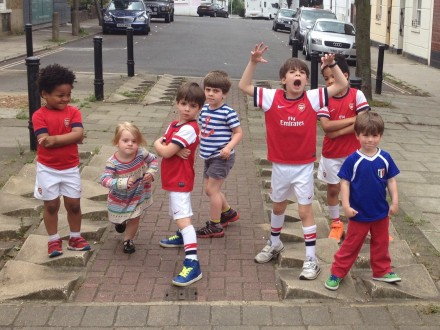 Arsenal FA Cup Kids