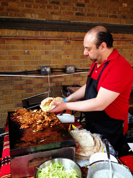 Feast in the Fields at The Brewhouse, London Fields May 2014