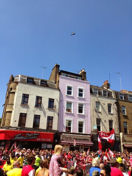 Arsenal FA Cup Victory Parade