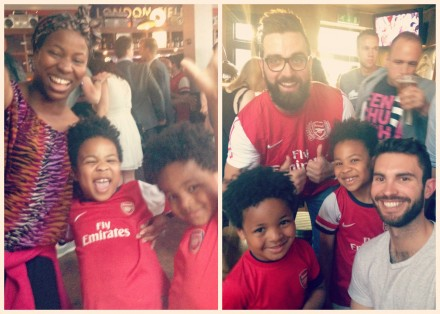 Arsenal Winners at Pub in the Park London Field