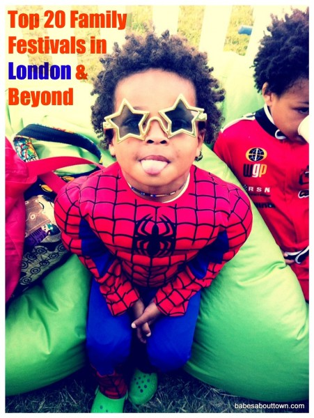 Top 20 Family Festivals in London and Beyond