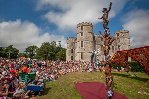 Camp Bestival circus acts