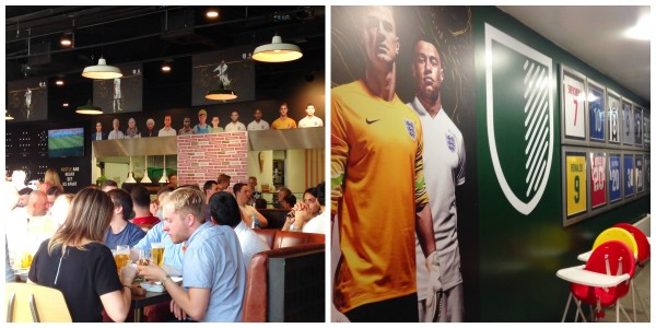 Cafe Football Collage