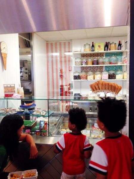 Cafe Football sweet shop