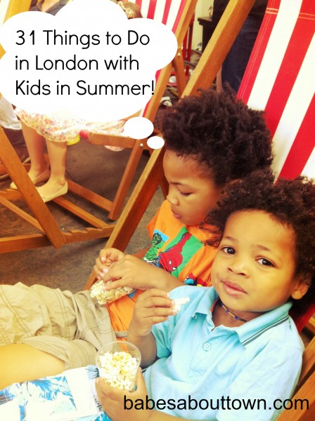 London-Kids-Summer-Guide