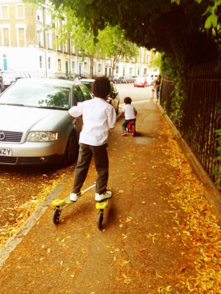 Vtriker Elite 3-wheel scooter