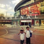 Babes at Arsenal Stadium