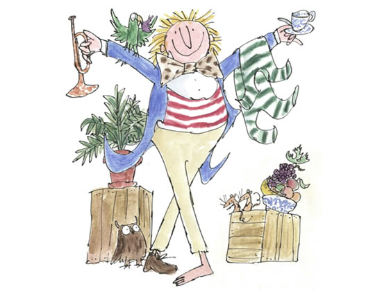Quentin Blake House of Illustration