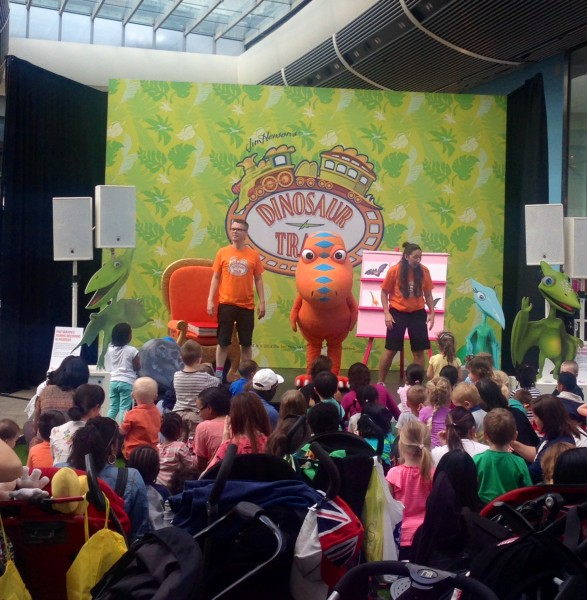 Dinosaur  Train at Westfield