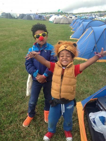 Camp Bestival camping
