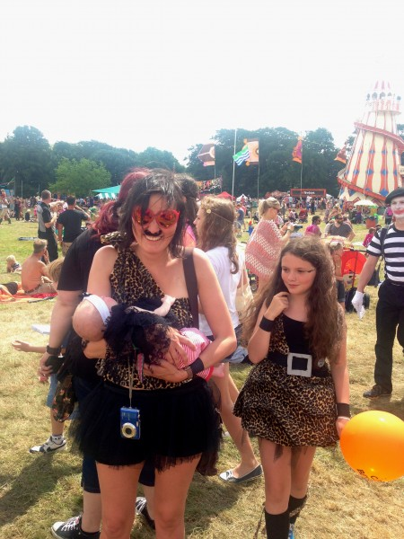 Camp Bestival costume parade
