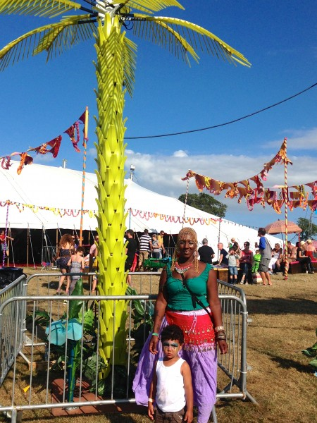 Camp Bestival Bollywood tent