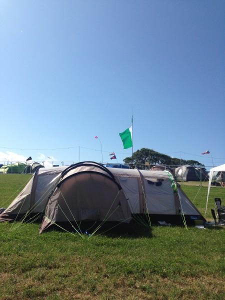 Camp Bestival Nigeria flag