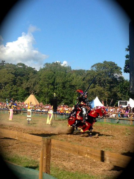 Camp Bestival 2014 jousting