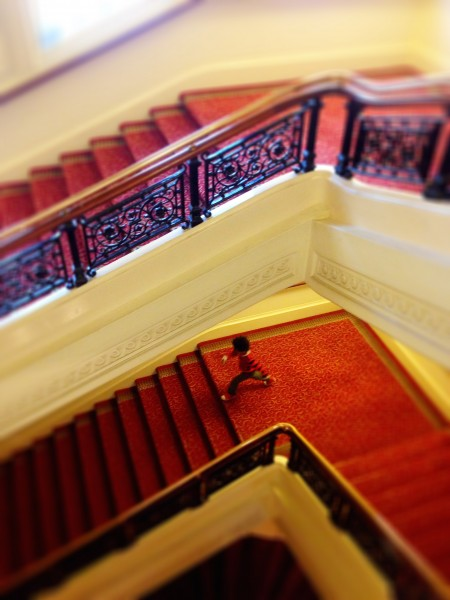 Charing Cross Hotel staircase