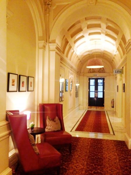 Charing Cross Hotel corridor