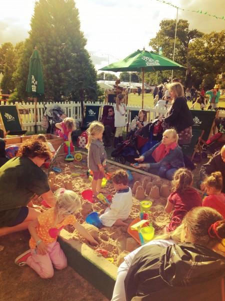 LolliBop Festival toddler beach
