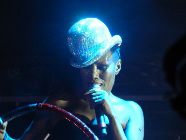 Grace Jones at On Blackheath
