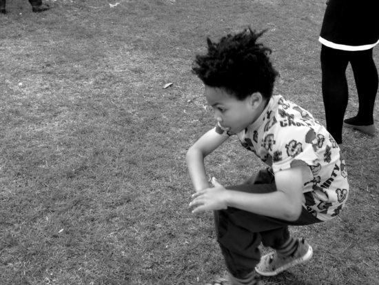 Busting moves at Disco Loco in the Park