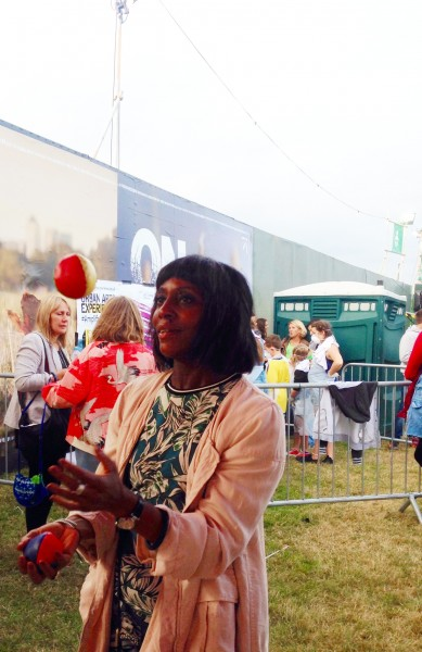 Brenda Emmanus at On Blackheath festival