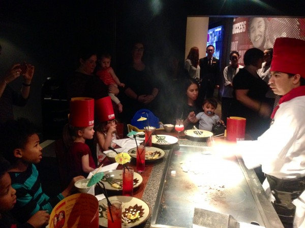 Benihana Chelsea family friendly restaurant