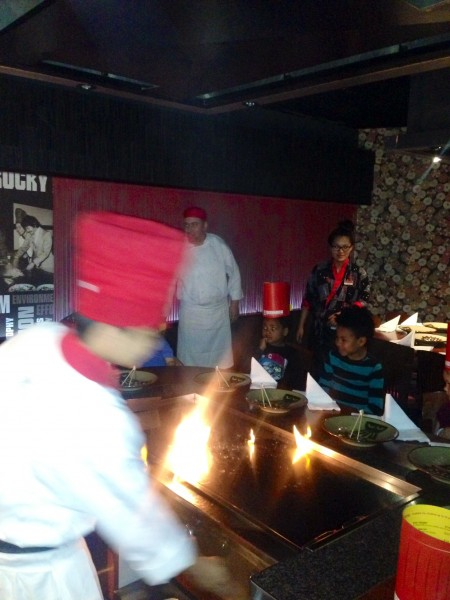 Benihana Chelsea chef