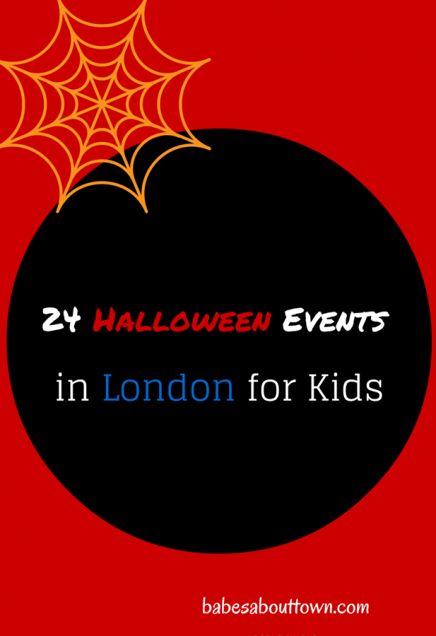Halloween London kids guide