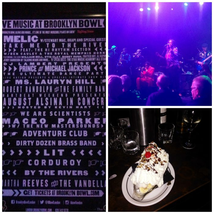 Brooklyn Bowl Collage
