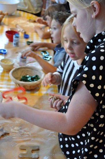Le Pain Quotidien Cookie Decorating Class