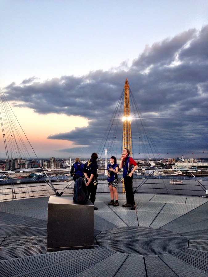 Adventures in London: Climbing Up at the O2