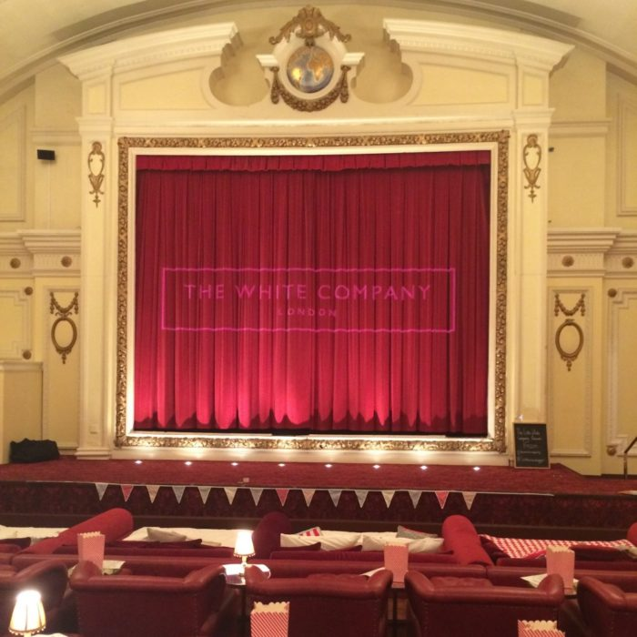 White Company Electric Cinema