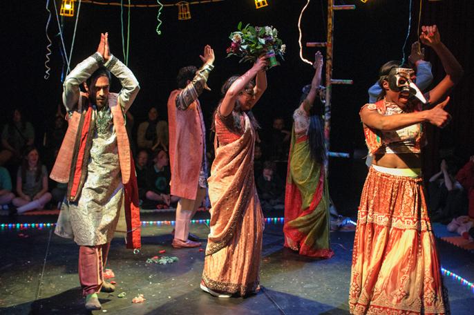Romeo and Juliet National Theatre dance scene