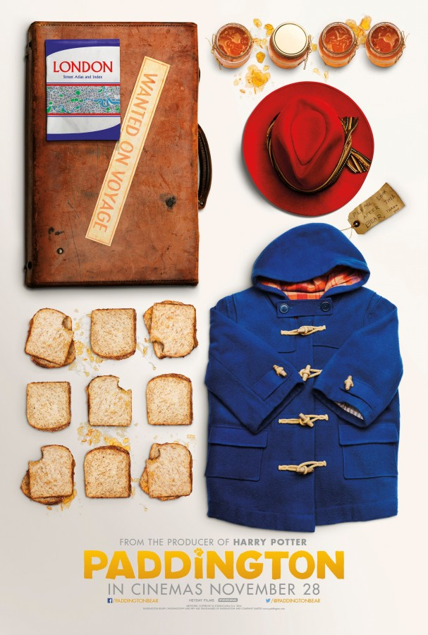 Paddington Suitcase Poster