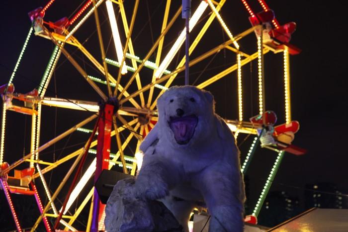 Winterville polar bear